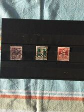 Schweiz, Briefmarken Pro Juventute 1916. Mi 130-132. Kompl. Serie.Trachten