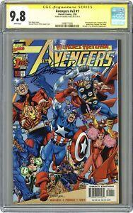 Avengers 1A Perez CGC 9.8 SS 1998 2498775006