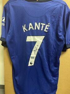 Signed N'Golo Kanté Chelsea FC shirt with Coa