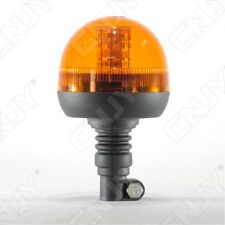 GYROPHARE 40 LED ORANGE FLEXIBLE MODE ROTATIF&FLASH-12/24V DC-FIXATION SUR MAT