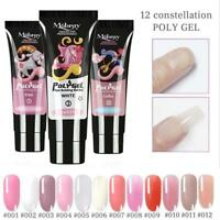 Crystal UV Nail Gel Extension Builder Led Poly Nail Art Gel de secado rápido ES