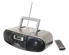 Panasonic RX-D55GC-K CD Tape Cassette Radio Boombox Dual Voltage 110-220 Volt