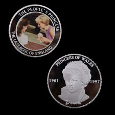 The Princess Diana Silver Coin Commemorative Metal Coins Metal Crafts Artwork