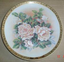 Furstenberg Porzellan Collectors Plate ROSE NIPHETOS