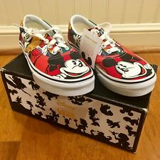 VANS NEW IN BOX Disney Mickey and Friends Sneakers Kids Girls Boys Shoes Sz 2.5
