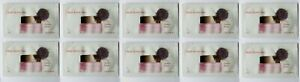 CLARINS MULTI ACTIVE JOUR sealed .06 oz 2ML set lot x 10 sample packets= 0.6 oz