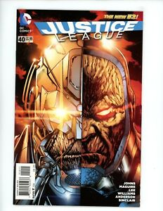 Justice League #40, NM- 2015, 1 Book Lot, NEWSSTAND HTF Variant