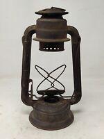 Collectible Iron Lantern By Brand Deitz Kerosene Oil Lantern Lamp Without Glass