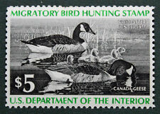 RW43 Federal Duck Stamp Unsigned No Gum -No Faults- EBAY Low (RW1-84 in Stock)