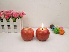Bougies et chauffe-plats de décoration intérieure pomme