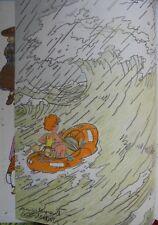 ! DESSIN DEDICACE WASTERLAIN Jeanette Pointu 6 (Tintin)