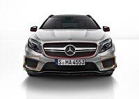 Neuf Véritable Mercedes Benz Gla Classe X156 AMG Set Avant Pare-Choc Bas Grille