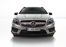 New Genuine Mercedes Benz GLA Class X156 AMG Set Of Front Bumper Lower Grills