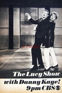 'The LUCY SHOW' (with Danny Kaye) 1964 TV Show Advert Print - Small Ad to Frame