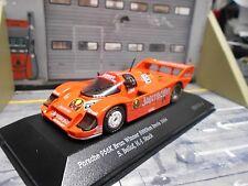 PORSCHE 956 K 956K Brun Imola 1000km 1984 #19 Bellof Stuck IXO Collection 1:43