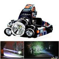 90000 LM Rechargeable LED Headlamp Headlight Flashlight Head Light Lamp 4 Modes