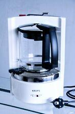 Krups Kaffee Maschine T8 Druckbrühstystem  Typ 468 C weiß 8 - 12 Tassen prima