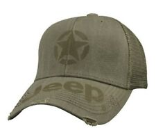 Jeep® Distressed Style Star Cap