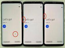Samsung Galaxy S9 G960U Black DOT LCD Factory Unlocked Smartphone