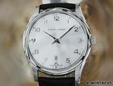 Hamilton Jazzmaster H385110 Men's Swiss Made Stainless Steel Auto Watch JU143