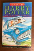 Harry Potter and the Chamber of Secrets JK Rowling Bloomsbury Paperback error
