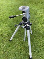Vintage Slik Master Camera Tripod Aluminum Made In Japan 3 Section Legged