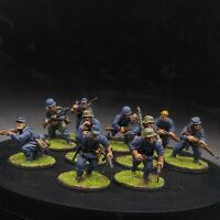 Well Painted 28mm Bolt Action German Luftwaffe field division ×10 squad #1 ww2