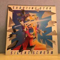 SHOOTING STAR Silent Scream 1985 UK vinyl LP EXCELLENT CONDITION
