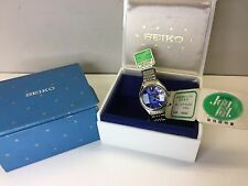 NOS Seiko 9 Sided Diamond Shaped Crystal Automatic Watch 2206-0490 uhr MOT