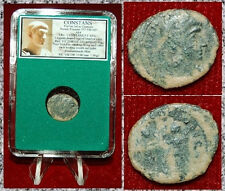 New ListingAncient Roman Empire Coin Of Constans Two Victories With Wreaths And Palms