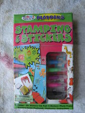 Stamping and Stickers Tommy Nelson's Playpaks (2005, Kit) Art Scrapbooking Color