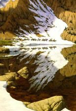 "Bev Doolittle ""SEASON OF THE EAGLE"" Camoflauge-Indian-Native American-Alaska-Art"