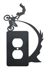 Motocross Freestyle Kiss of Death Single Outlet Cover Plate