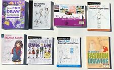 Lot - 8 Books On The Art Of Drawing