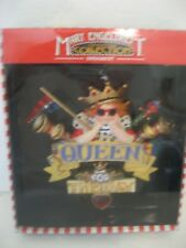 "Nib Adorbale Mary Englebreit ""Queen for the Day"" Christmas Ornament- Kurt Adler"
