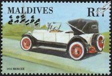 1915 MERCER 22/72 Tourer Mint Automobile Car Stamp (2000 Maldives)