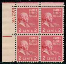 Scott # 806 Plate Block, Mint, Og, Nh, Great Price!