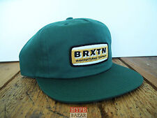 BRIXTON PHILCO SNAPBACK CAP NEU GREEN BRIXTON SUPPLY CO