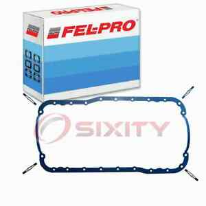 Fel-Pro Engine Oil Pan Gasket Set for 1966-1987 Ford Bronco 4.7L 5.0L V8 yx