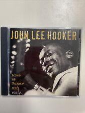 JOHN LEE HOOKER - LIVE AT SUGAR HILL - CD - LIKE NEW