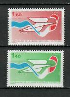 s25289) FRANCE 1981 MNH** Postal saving bank 2v
