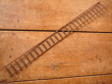 PECAN HULLING WIRE - SHEET METAL BARBLESS STRIP -  ANTIQUE BARBED BARB  WIRE