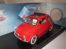"Solido  8043  Fiat  500  (open)  ""1960""  1:16  in OVP !"