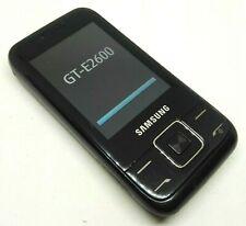 New listing Samsung Gt E2600 - Black (Unlocked) Mobile Phone Gsm Quad-Band