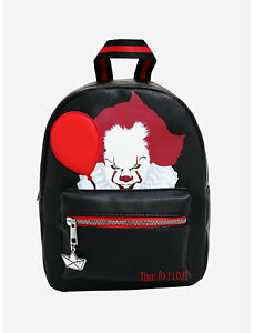 """IT Chapter Two Pennywise Mini Backpack- """" Time to Float"""" PRE-OWNE"""