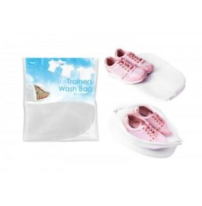 TRAINERS WASH BAG LAUNDRY BOOTS SHOE PROTECTION MESH DRY WASHING HANGING ZIPPED
