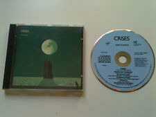 Mike Oldfield - CRISES - early press blue face CD © 1983 (no barcode) #CDV 2262