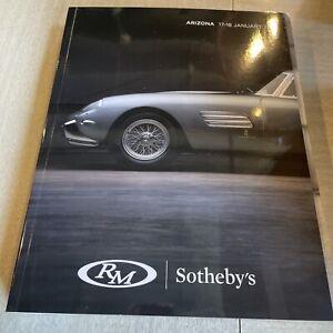 RM Sotheby's Arizona January 17-18 2019 Auction Catalog