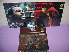 MARVIN GAYE ULTIMATE 180 GRAM VINYL  LP SET OF 3 SEALED  WOW!!!