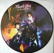 PRINCE & The Revolution - Purple Rain LP Picture Disc Vinyl Album Reissue Record
